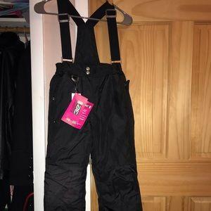 32Degrees Kid Girls Snowpants-Size M(10/12)NWT